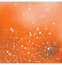 Molecule Structure Communication Concept vector image