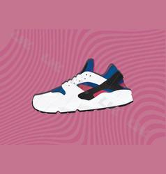 Nike air huarache og v1 vector