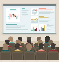 presentation vector image