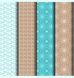 sets patterned lines vector image