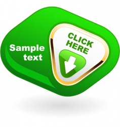 button for web vector image