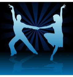 latino dance vector image vector image