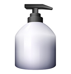 A pump-style spray bottle vector