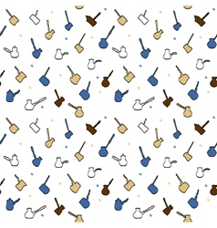 Coffee pattern 3 vector