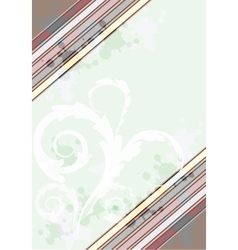 Colorful card border vector