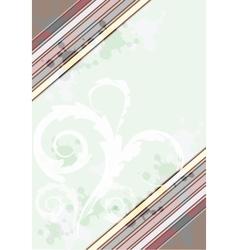 Colorful card border vector