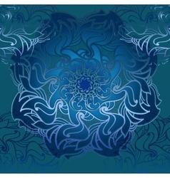Hand drawn ornamental mandala vector image