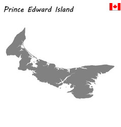 map province of canada vector image