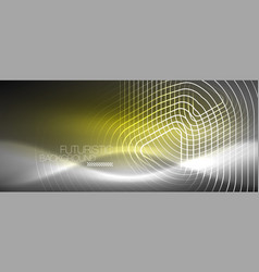 Neon color abstract background vector