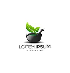 organic medicine maker vector image