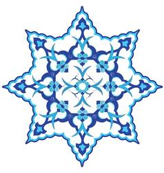 Oriental ottoman design vector