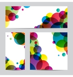 Paper with design vector
