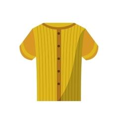 Tshirt of baseball sport design vector