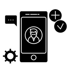 app development icon sign o vector image vector image