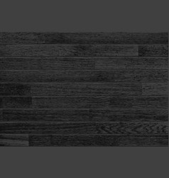 black wooden background vector image