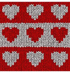 Heart Jumper vector image vector image