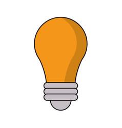bulb idea light creative vector image vector image