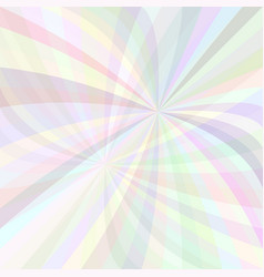 Abstract curved ray burst background - from light vector