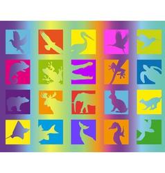 animal icon color vector image