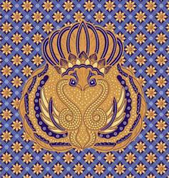 Batik design vector
