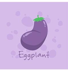 Eggplant Vegetable vector image