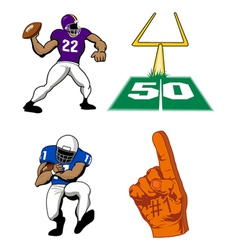 Football game vector