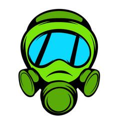 Gas mask icon icon cartoon vector