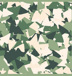 geometric seamless pattern made triangles in vector image