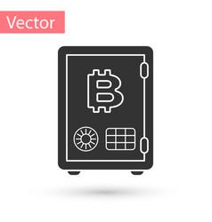 Grey prostake icon isolated on white vector