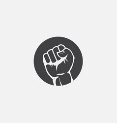 hand power sign vector image