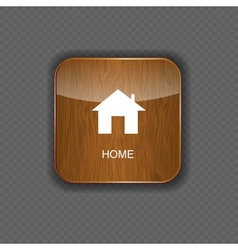 Home application icons vector image