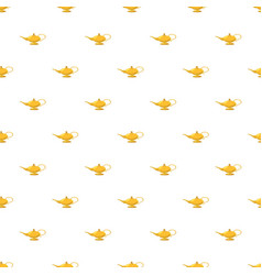 Magic lamp pattern vector