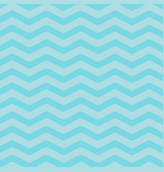 sea ocean water with blue zigzag waves seamless vector image
