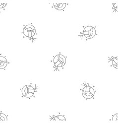 star telescope pattern seamless vector image