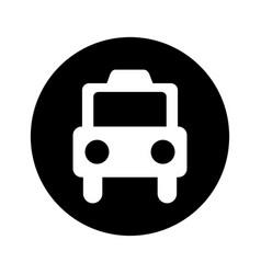 Taxi service public icon vector
