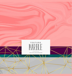 Trendy fashion marble texture background vector