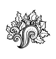 Zentangle decorative element vector