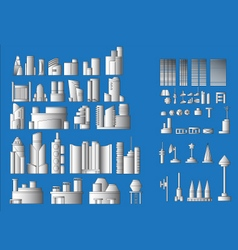 All Building vector image