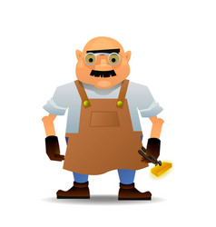 blacksmith in format vector image