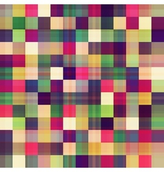 Square geometric seamless pattern vector