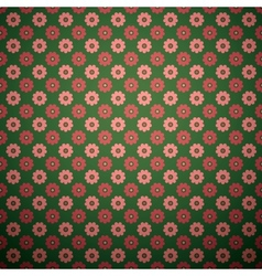 Abstract flower seamless pattern tiling vector