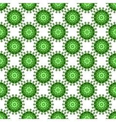 Abstract virus pattern vector