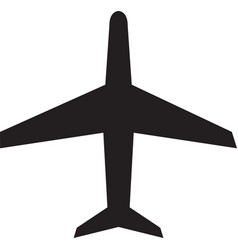 airplane icon airplane icon object airplane vector image