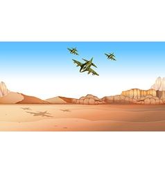 Battle field vector