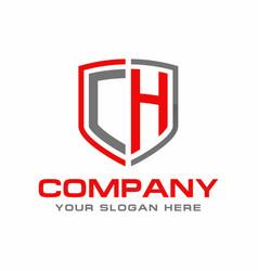 ch logo vector image
