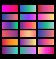 collection of soft color background gradient vector image