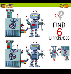 Educational differences game vector