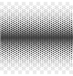 Gradient Dotted Background on Transparent vector