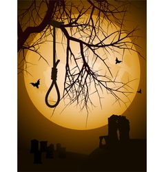 Hangmans noose vector
