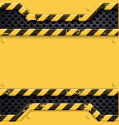 Industrial metal technology background danger vector